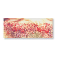 """""""Peaceful Poppy Fields"""" Printed Canvas"""