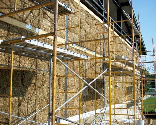 Foto e idee per facciate di case facciata di una casa for Case in stile adobe