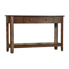 Primo Sofa Table In Graphite By Hammary Graphite