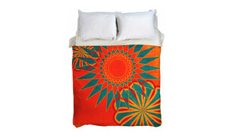 West Indies Boho Handwoven Moroccan Duvet Cover, UBU Republic