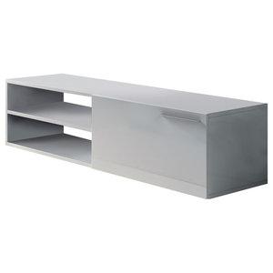 Kikua TV Stand, White