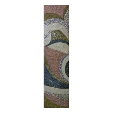 """Mozaico - Abstract Style, Pattern Mosaic Art, 24""""x79"""" - Tile Murals"""