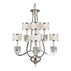 john richard lighting. john richard eight light chandelier silver chandeliers lighting t