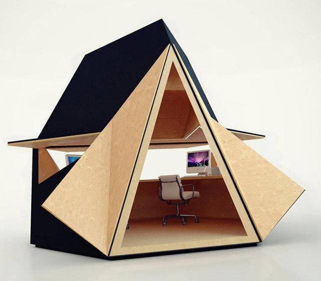 tetra shed backyard home office pod