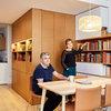 Visita privada: Una reforma pensada para ordenar ¡4.000 libros!