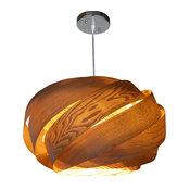 Wood Pendant Lamp (Ceiling Lighting), Op2070M-Ch