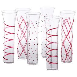 Contemporary Wine Glasses by abigails inc