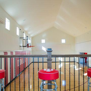 Indoor Basketball Court Addition