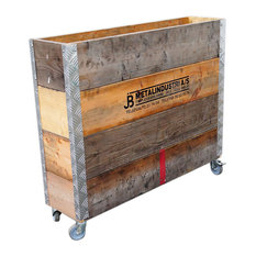 Beskaffenhed Upcycled Pallet Tall Storage Box