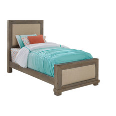 Willow Complete Bed, Twin, Upholstered