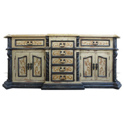 Luxury Traditional Bathroom Vanities And Sink Consoles by Lutina Old World Furniture