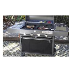 Hanang 4 Burner Gas Barbecue
