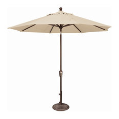 SimplyShade SSUM92-0900-P Catalina 9 Foot Wide Open Polyester Market Umbrella w