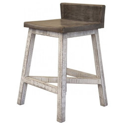 Farmhouse Bar Stools And Counter Stools by Burleson Home Furnishings