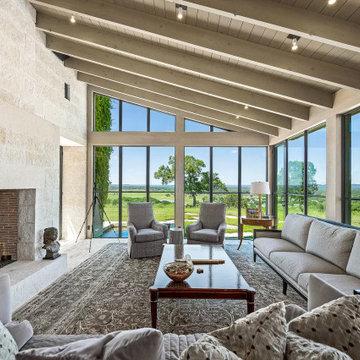 The von Behr Estate in Sisterdale, TX