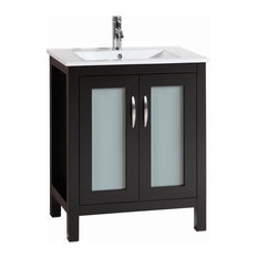 Mod Reynold Bathroom Vanity With Ceramic Top 28 Vanities And Sink