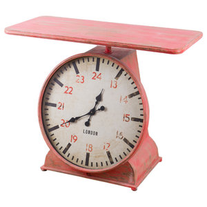 Scales Clock Table