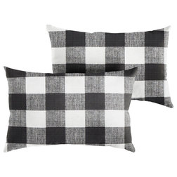 Farmhouse Outdoor Cushions And Pillows by Mozaic Company