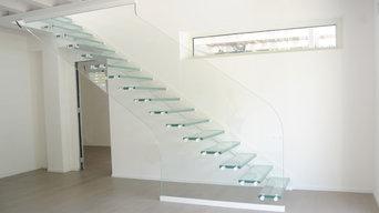 Scala in vetro strutturale