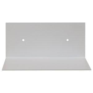 White Square Steel Wall Shelf