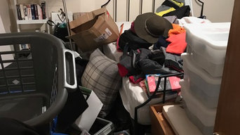 Declutter and Organise Bedroom - Before