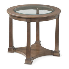 Lyle Round End Table   Side Tables And End Tables