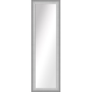 Over the Door Imperial Mirror, Stainless Silver, 16.5x52.5