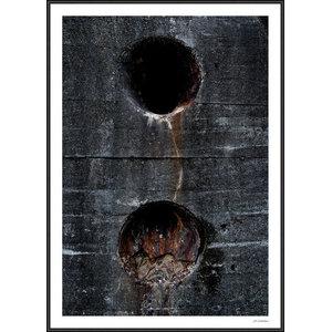 """Nina Guldbrandsen Collection """"Defend 2"""" Framed Poster, 50x70 cm"""