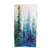 Society6 Mountain Landsc Towel, Hand Towel