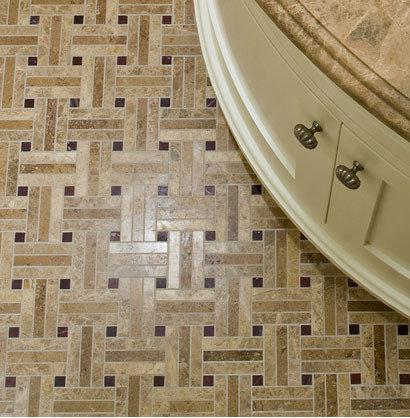 Stone Basketweave Mosaic - Mosaic Tile