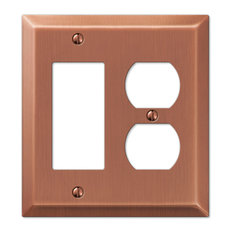 50 Most Popular Copper Switch Plates And Outlet Covers For 2019 Houzz