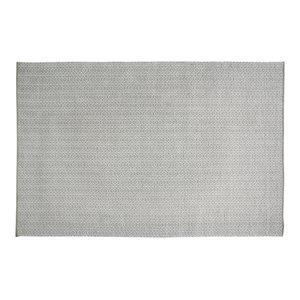 Handwoven Olive Green Rombini Cotton Rug, 200x300 cm