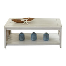 Liberty   Liberty Furniture Dockside II Cocktail Table, White   Coffee  Tables