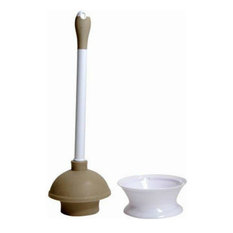 Quickie® 360MB Plunger & Caddy with Microban® Protection