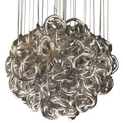 Awesome Contemporary Chandeliers by Viz Glass Inc