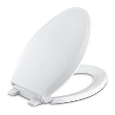 Kohler Cachet Quiet-Close With Grip-Tight Elongated Toilet Seat, White