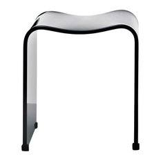 dwba bath collection dwba backless acrylic shower bench black shower benches u0026 seats