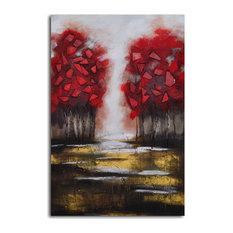 Passion and Fire Hand Painted Canvas Wall Art