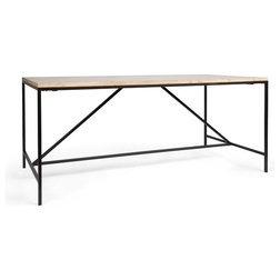 Industrial Dining Tables by Houzz