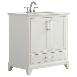 Transitional Bathroom Vanities And Sink Consoles by Simpli Home Ltd.