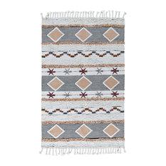 Yuma Kilim Shag Area Rug by Kosas Home, 8'x10'
