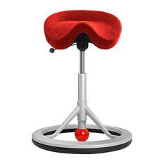 backless chair on wheels. excellent back app back app get fit