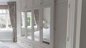 Wardrobes in an Edwardian town house