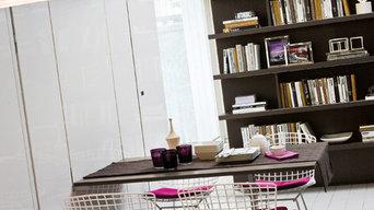 Köksbord och säng kombination