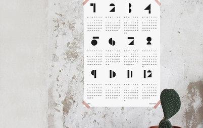 Behalten Sie den Überblick! Die 10 schönsten Kalender fürs neue Jahr