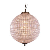 Pendent Lamp, French Gold