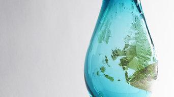 Blown Glass Vase - Interior Design Decor