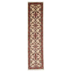 Tabriz 50Raj Oriental Rug, Runners, Hand-Knotted Classic, 323x75 cm