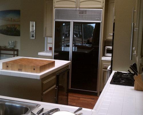 California IKEA kitchen with Semihandmade