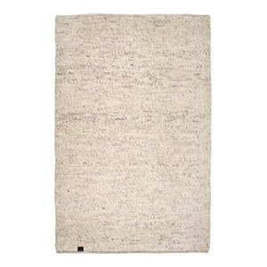 Classic Collection Merino Area Rug, Natural Beige, 300x200 cm